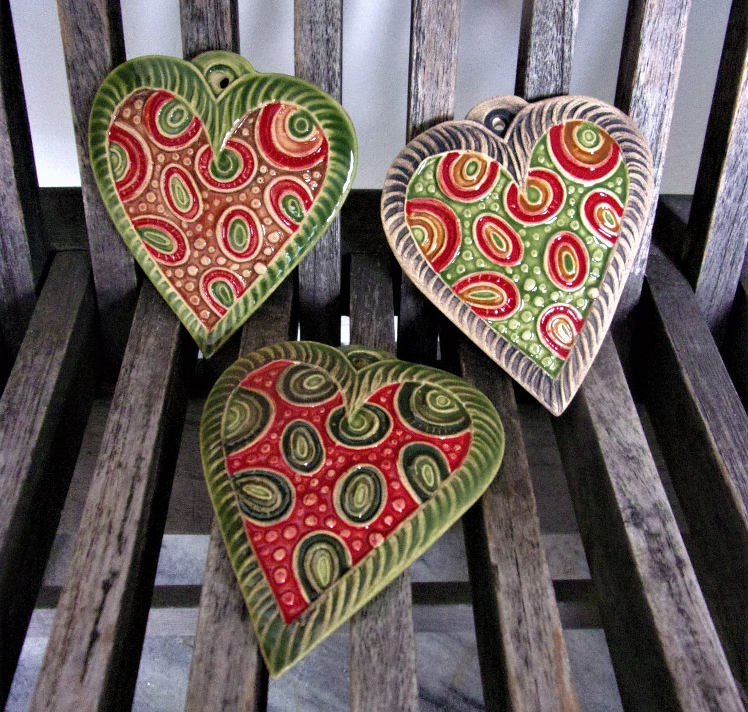 keramické srdce