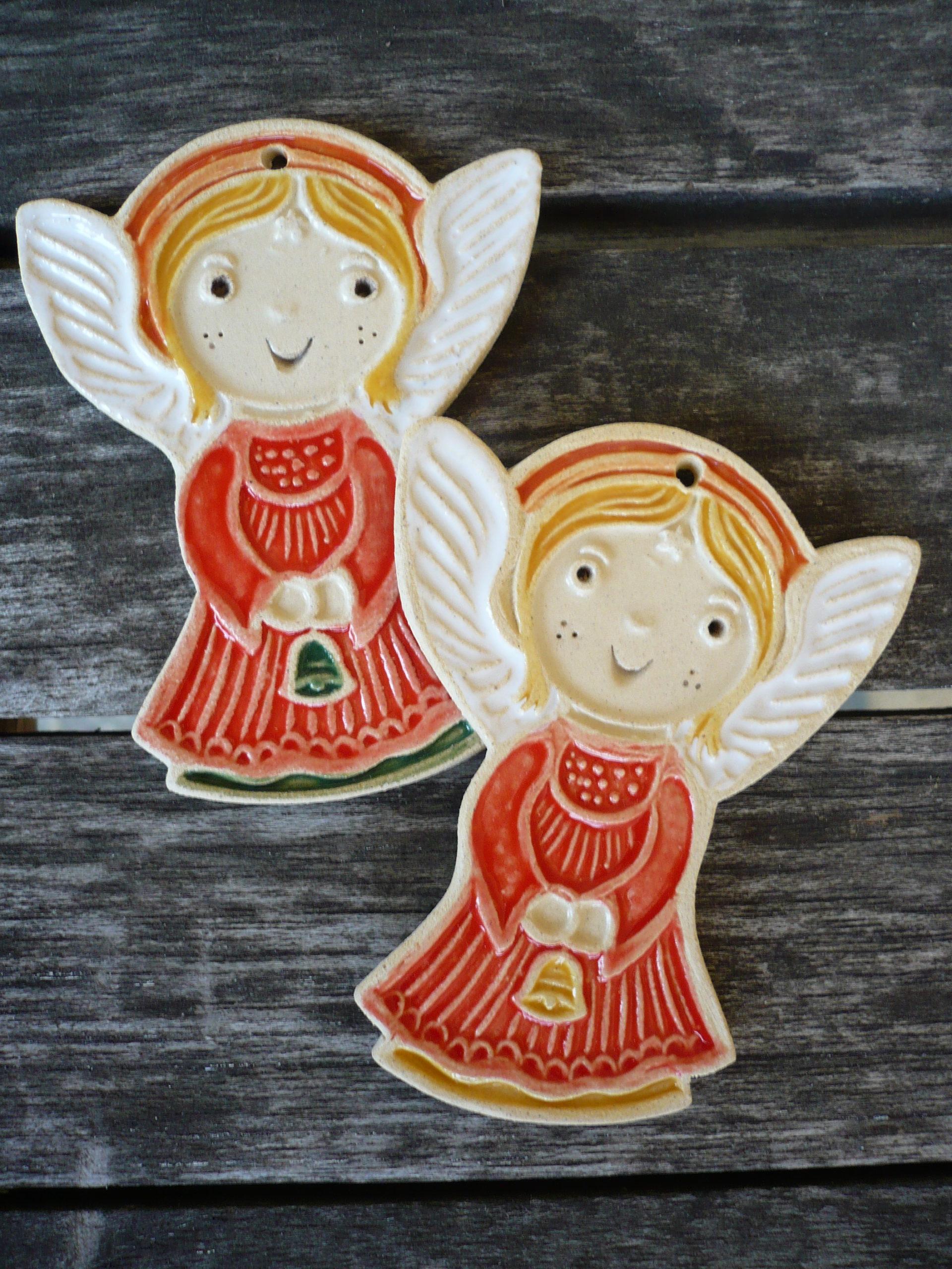keramický andělíček